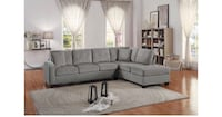 Soft Sectional Color Taupe ( We do Finance too, $42 down and take at Home Today!!)  Houston, 77092