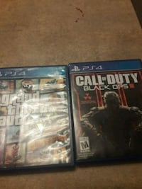 two Sony PS4 game cases Miami, 33150