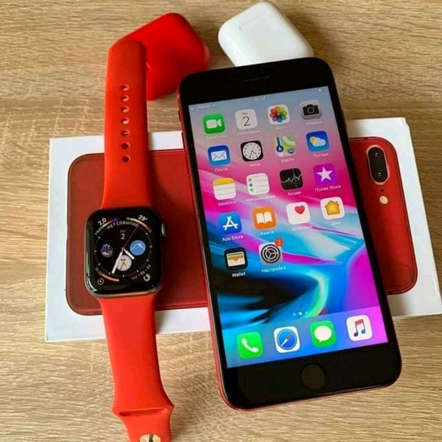 IPhone 8plus with watch for sale