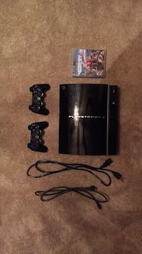 Black sony ps3 slim console with controller- also comes with Farcry 4® and an additional controller. (Used slightly) (good condition) Capitol Heights, 20743