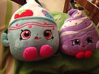 2 shopkins plush Toronto, M4J 3E1