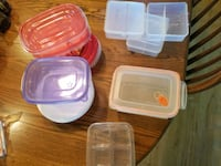 Multiple plastic containers many new Bristol, 46507