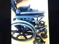 Black and gray wheelchair Vaughan, L6A 3C4