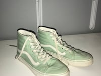 mint vans women's size nine men's size seven. only worn twice, laces slightly dirty but can be replaced or washed   Yorba Linda, 92886