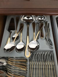 Cutlery large set German stainless steel Vaughan, L4J 8R3