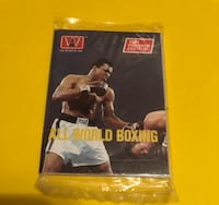 All World Boxing Cards Factory Sealed 1991 Premier Edition MuhammadAli Vancouver, V5R 5J4