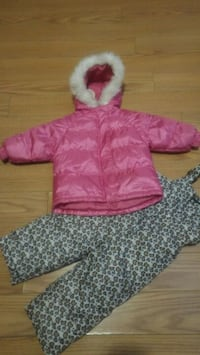 Toddlers Puff Coat 2T w/ leggings