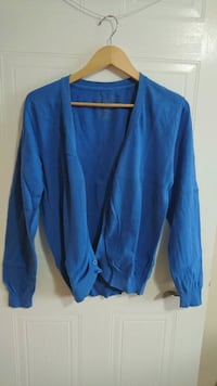Medium Slim Fit Bright Blue Cardigan  London