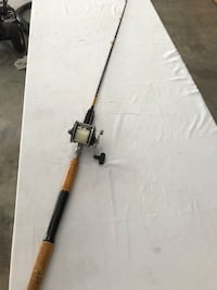 Wood Handle Salt Water Fishing Pole