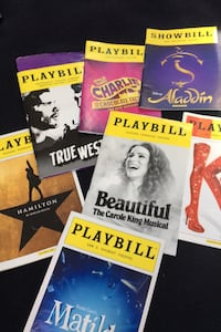 Collectible Broadway show playbills.  New York, 10308