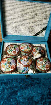 Vintage Tea Set - Japan Falling Waters, 25419