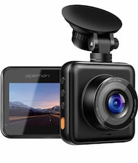 【Updated】 APEMAN Dash Cam 1080P Full HD Mini Dash Camera for Cars Recorder Super Night Vision, 170° Springfield, 22153