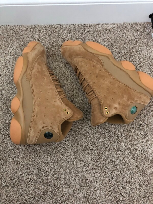 0b2ac3abb57e3a Used Brand new Jordan 13 Wheat size 10.5 for sale in Langley - letgo