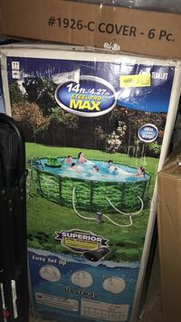 Brand new in box 14ft Swimming Pool. Retails over $350. Check my other posts Norfolk, 23502