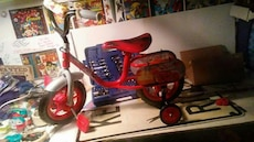 Toddler boys Cars bike, New! Just put together.