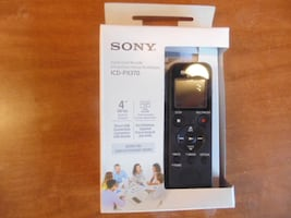 Sony ICD-PX370 . Digital Voice Recorder.