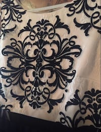 white and black floral textile Windsor, N8T 3C5