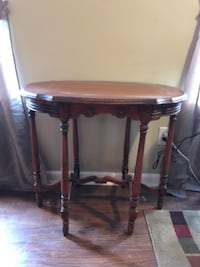 brown wooden side table with drawer Spring Hill