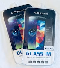 Two anti blu-ray tempered glass screen protectors iphone 6 & 6s New Port Richey, 34655