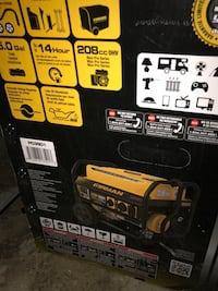 black and red Lincoln Electric welding machine box Toronto, M9M 2Z8