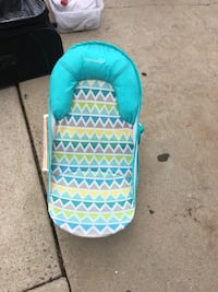 baby's teal and white bather San Diego, 92117