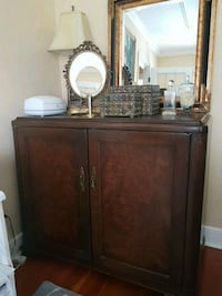 brown wooden cabinet with mirror Victoria, V8S 4X1