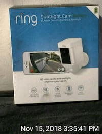 Ring Spotlight Camera (battery) Clinton, 20735