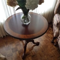 Chippendale ball in claw side table Brampton, L6Z 4B7