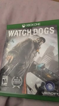 Xbox One Watch Dogs game case Westminster, 92683