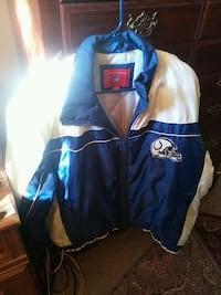 Colts jacket Blue and bright white Jurupa Valley, 91752