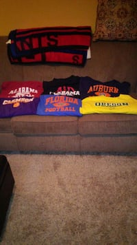 College long sleeve t-shirts