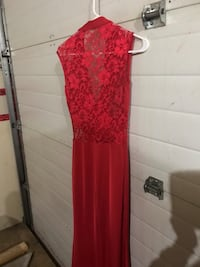 Red gown new without tags  Medicine Hat, T1A 6P1