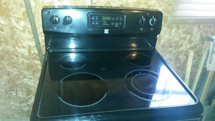 Flat Top Electric Stove ~ Used kenmore flat top electric range in pleasantville
