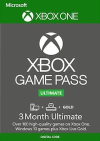 3 month Xbox gamepass ultimate code delivery Woodbridge, 22193