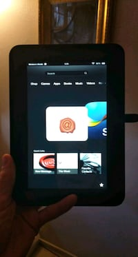 Amazon Kindle fire tablet basically new  Modesto, 95351