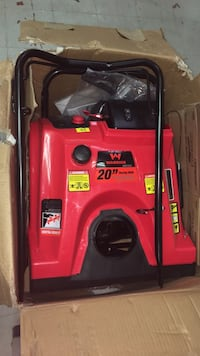 red and black Troy-Bilt push mower East Chicago, 46312