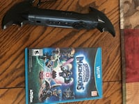 Bat wii controller with game