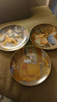 Collectable plates Runnells, 50237