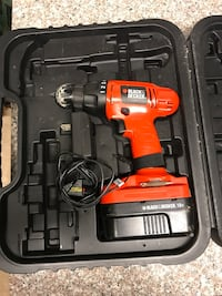 orange and black cordless power drill Woodbridge, 22192