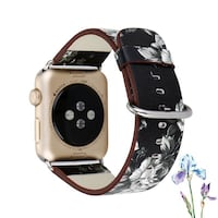 NEW!Genuine Leather Strap Band for Apple Watch 哈里森堡, 22801
