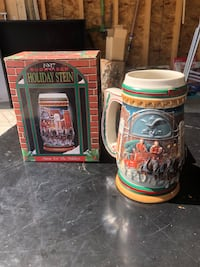 Holiday stein, made in Brazil Calgary, T2Z 4R3