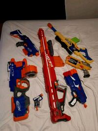 7 nerf guns  Saint Thomas, N5R 1S9