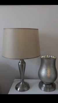 Silver table lamps... Irvine, 92603