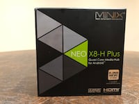 Minix NEO X8 Plus Streaming Media Player (Black) Vaughan