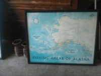 fishing areas of alaska map Los Angeles, 90058