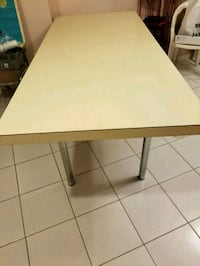 FREE wooden folding table Toronto, M9N 2A9