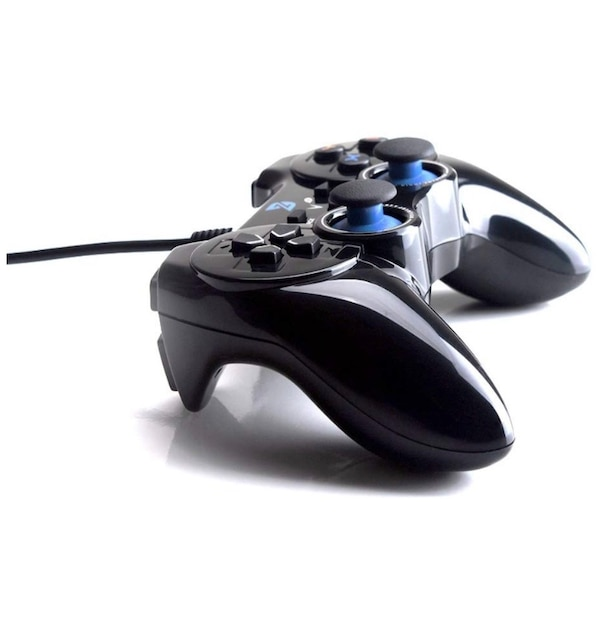 7774fcf96c52 USB Wired Gaming Controller Gamepad for PC/Laptop Computer(Windows  XP/7/8/10) & PS3 & Android & Steam - [Black]