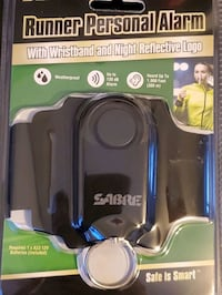 SABRE Weatherproof Runner Personal Alarm 130⁸dB With Reflective Logo