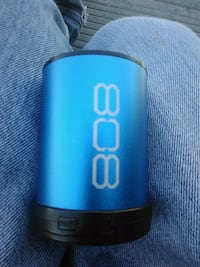 black and blue 808 portable speaker Victorville, 92395
