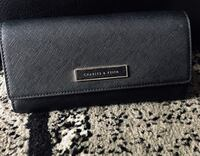 CHARLES & KEITH Basic Long Wallet - Black 3121 km